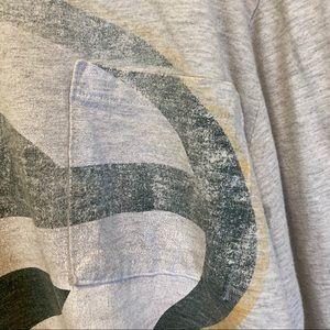 NFL Shirts - Green Bay Packers big G long sleeve pocket shirt